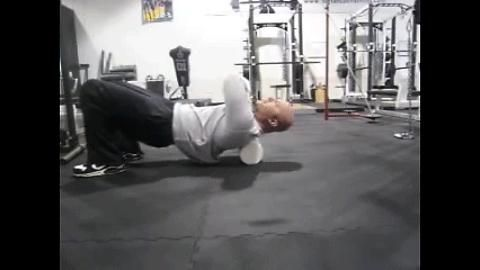 An upper body warm-up routine. All credits go to Joe Defranco (https://www.defrancostraining.com/). Please watch the whole video if you are interested https://www.youtube.com/watch?v=cgxr6xAB5ZM. Joe gives a lot of advice on how you should perform the exercises.
