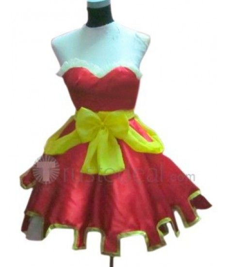 Fairy Tail Meredy Cosplay Costume: