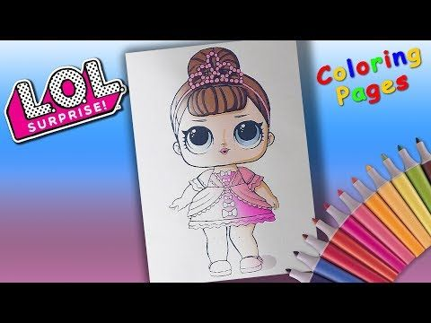 Youtube Coloring Books Lol Dolls Coloring Pages