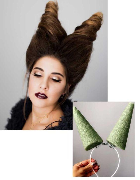 10 Coiffures D Halloween Pour Etre La Star De La Soiree Blog Coiffure Coiffeur Certifie As Coiffure Halloween Cheveux Pour Halloween Maquillage Halloween