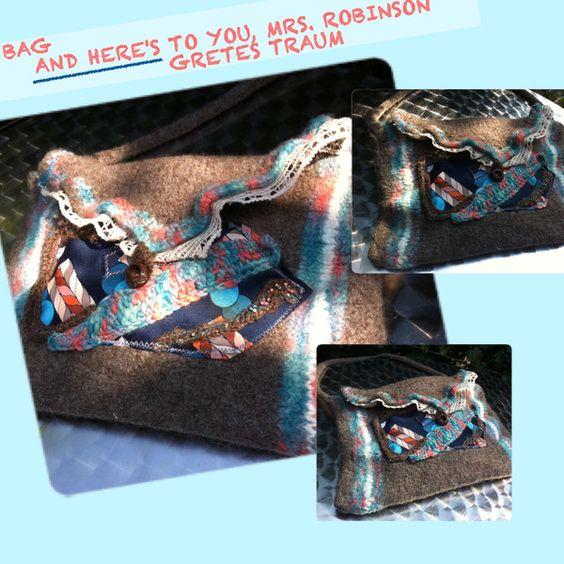 Handtasche - TASCHE, AND HERE'S TO YOU, MRS. ROBINSON, 70er - ein Designerstück…