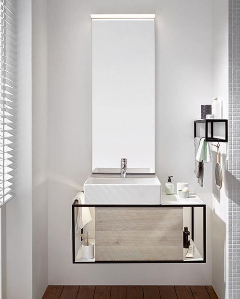 Burgbad Junit Set Keramik Waschtisch Inkl Waschtischunterschrank Version Links Inkl Leuchtspiegel Sflf090 Breite 900mm Badezimmer Mobel Badezimmer Unterschrank