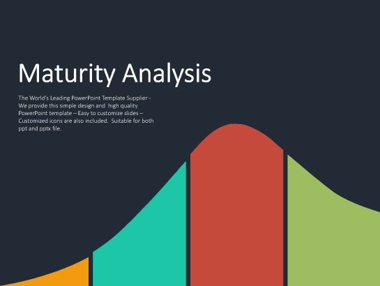 Animated Maturity Diagram Slides Powerpoint Presentation
