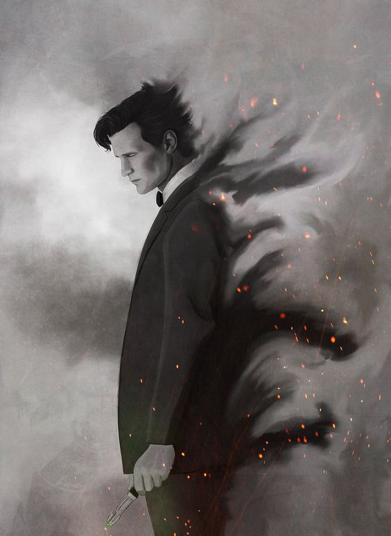 A Time Lord. The 11th Doctor. Doctor Who