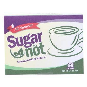 Sugar Not Natural Sweetener 50g Sachet, Box of 50