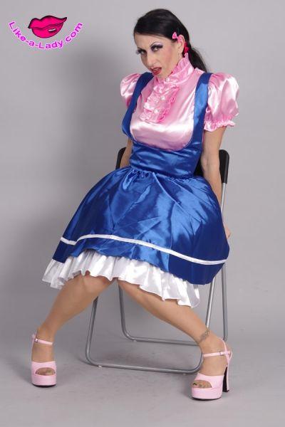 school girl sissy