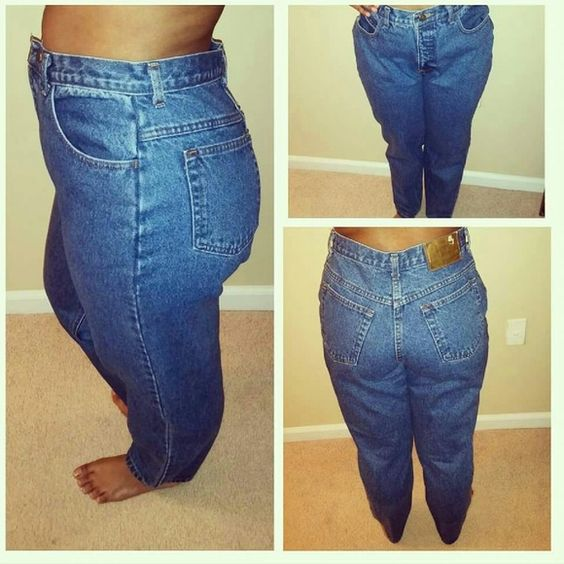 #vintage style #midwaist jeans... #vintage style #midwaist jeans...would be cute with crop top... London Fog Jeans