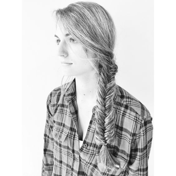 Fishtail braid by Andrea!