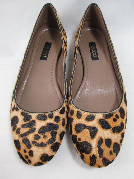 leopard print calf-hair leather Mary