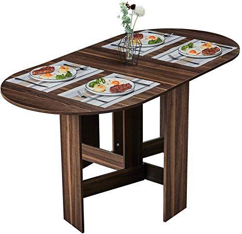Best Seller Tiptiper Folding Dining Table Extendable Dinner Table