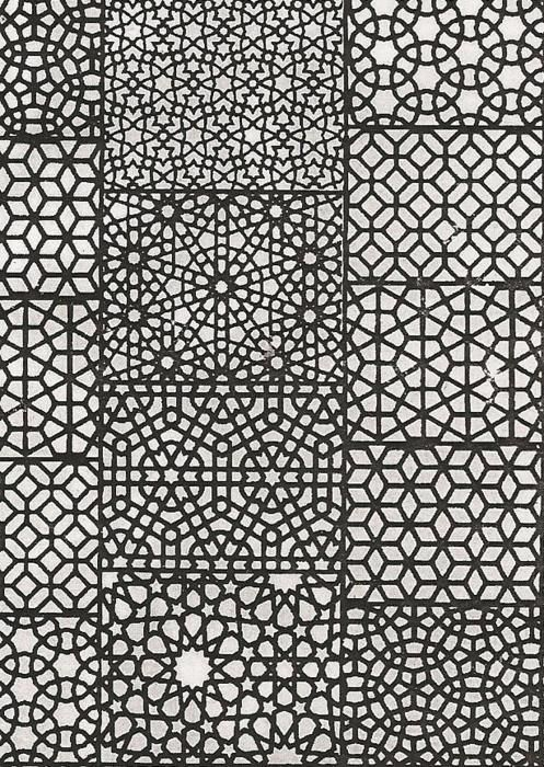 Islamic Geometric Patterns Black And White | www.imgkid ...
