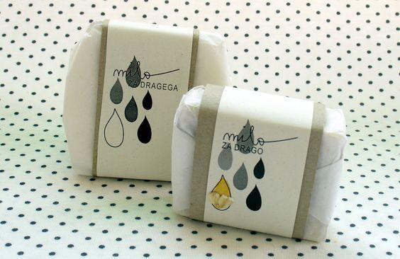 """soap """"Milo za drago"""" by Alja Fir and Anja Tomažič"""