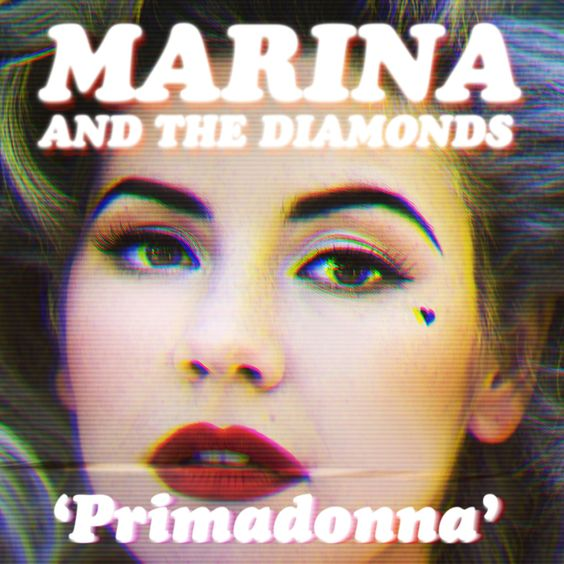 Marina and the Diamonds – Primadonna (single cover art)