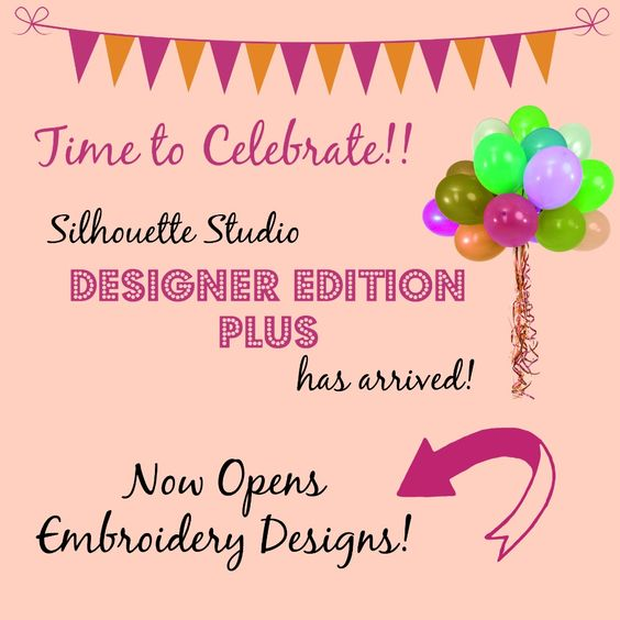 Now cut your machine embroidery appliqué with Silhouette Designer Edition Plus!