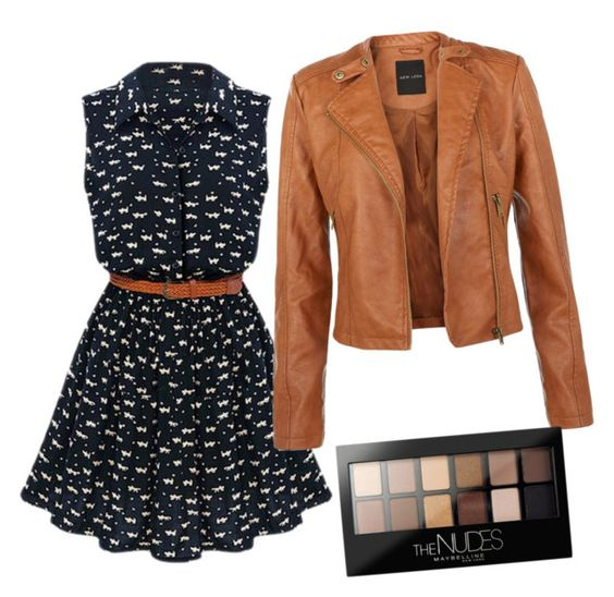 """""""colori autunnali"""" by terexina on Polyvore featuring Maybelline"""