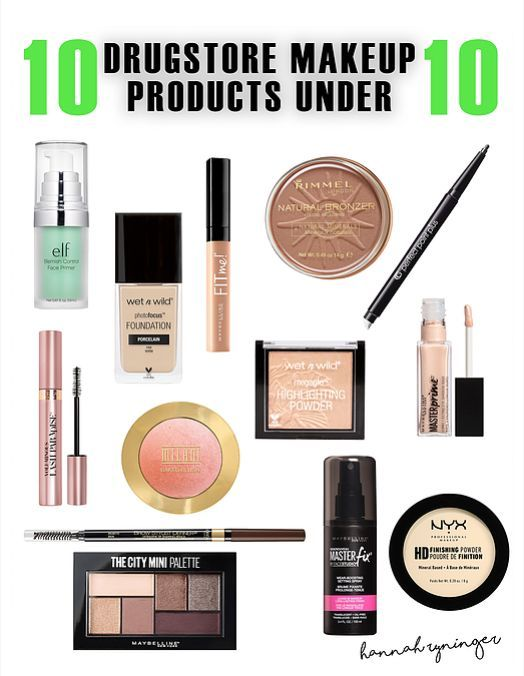 10 Drugstore Makeup Items Under 10 In 2020 Drugstore Makeup Makeup Items Cheap High End Makeup