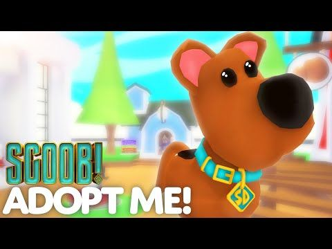 Scoob Update Adopt Me On Roblox Youtube In 2020 Roblox Adoption Scooby Doo