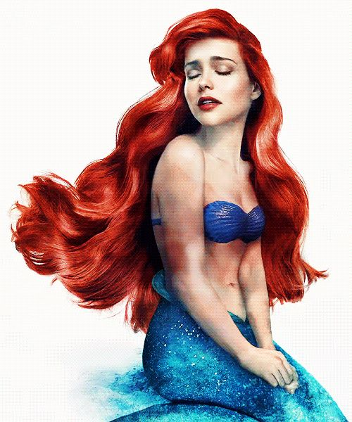 Ariel the little mermaid in real life real life ariel by jirka vinse