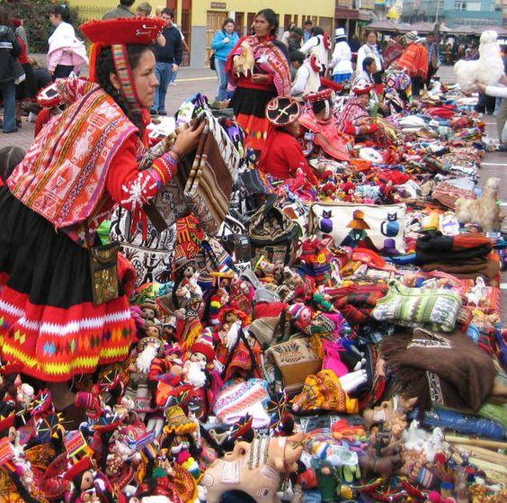 Miraflores Arts & Crafts Market, Lima, Peru