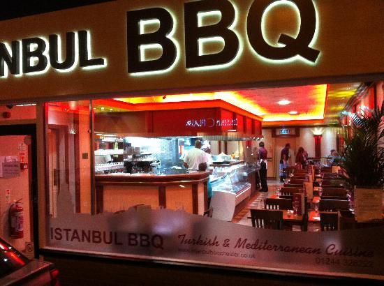 Istanbul BBQ in Chester , UK  http://istanbulbbqchester.co.uk/  Nice food, worth trying