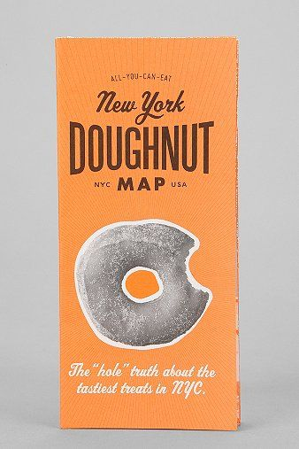 New York Doughnut Map By All You Can Eat Press