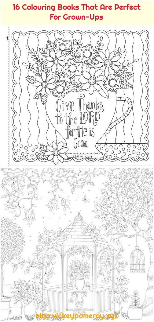 16 Colouring Books That Are Perfect For Grown Ups Coloring Books Coloring Cafe Color