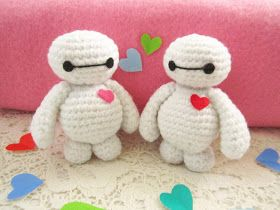 Amigurumi Love Tutorial : A little love everyday!: Baymax amigurumi pattern Crochet