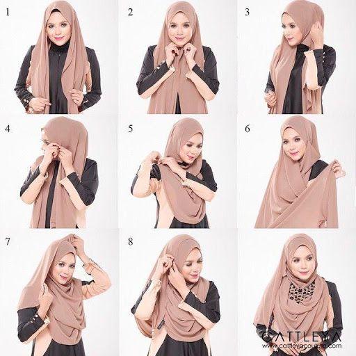 Tutorial Jilbab Syar I Modern Blog Lif Co Id