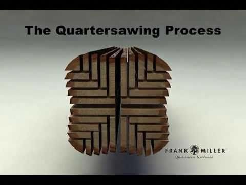 Quartersawing Process Frank Miller Lumber Great Short Video
