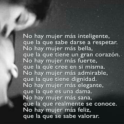 Soy mujer! !!