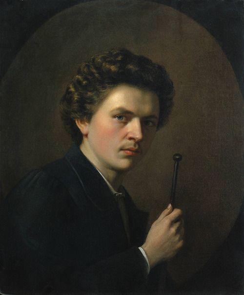sculppp: Self-portrait with a maulstick (c.1863), Henri Regnault