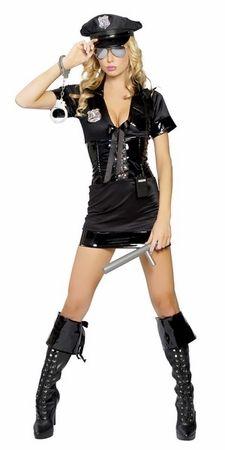 6 PC Stop Traffic Cop Costume