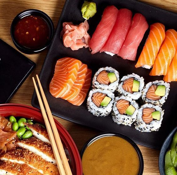 Do you like Sushi? uploaded by Nia on We Heart It
