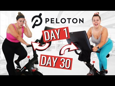 I Tried The Peloton Bike For 30 Days Soulcycle Vs Peloton Youtube In 2020 Peloton Bike Biking Workout Spin Class Workout
