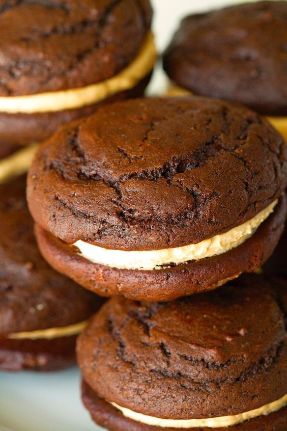 ... whoopie pies chocolate peanut butter peanut butter peanuts pies butter