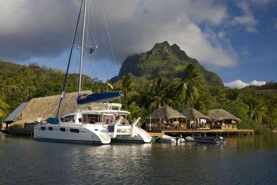 Bareboat Tahiti Yacht Charters & Boat Rentals in the Leeward Isles   The Moorings