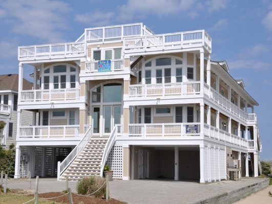 16 bedroom oceanfront home with over 11,000 square feet of living ...