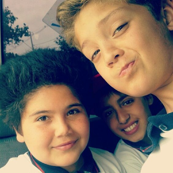 Con los chiquillos en el paseo de kidzania