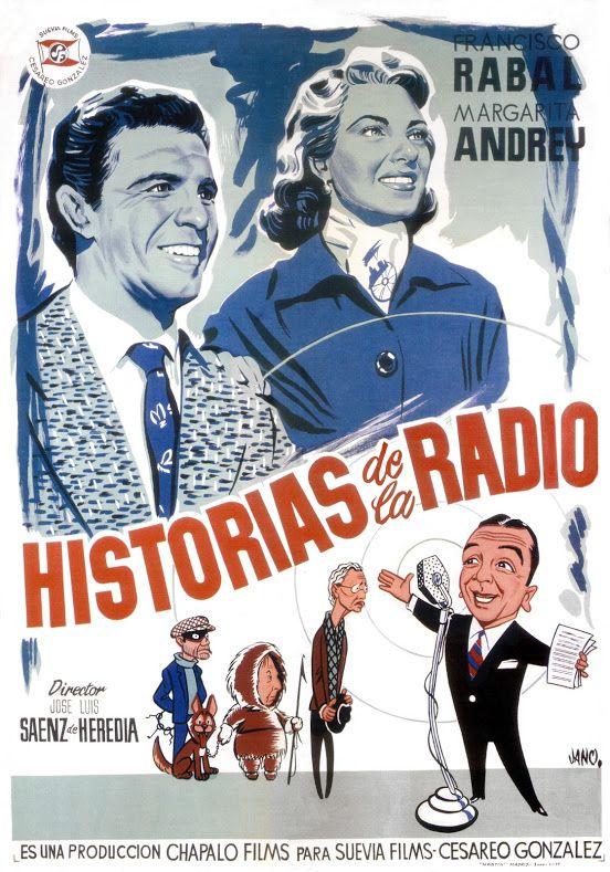 1955 Historias De La Radio Jano Carteles De Cine Historia De La Radio Cartel Cinematográfico