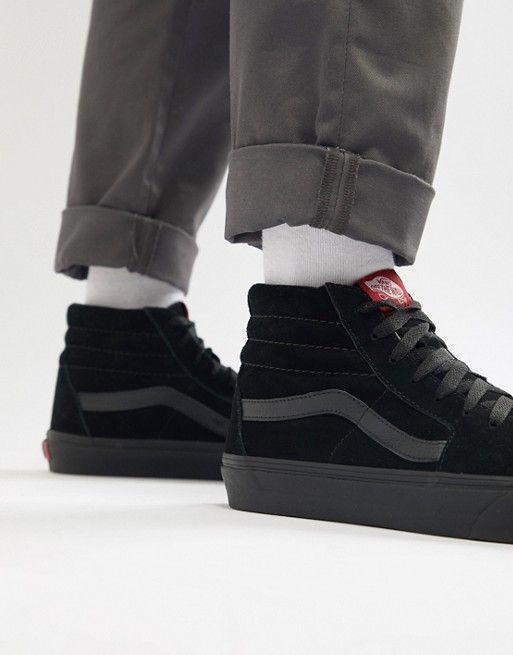 Vans | Vans Sk8-Hi suede sneakers in