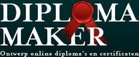 op www.diplomamaker.nl kun je zelf diploma's maken.