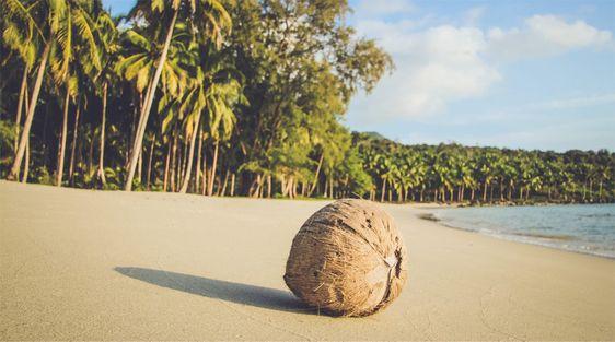 Nắng vàng, biển xanh và cát trắng đẹp như tranh vẽ