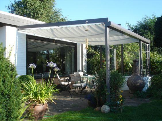 terrasse überdachen - google 検索 | modern family garden in green, Haus und garten