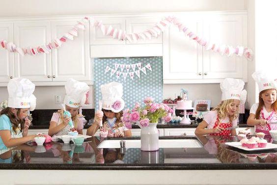 Baking Party... can't wait till my little baking helper is justa little bit older, she would love this!