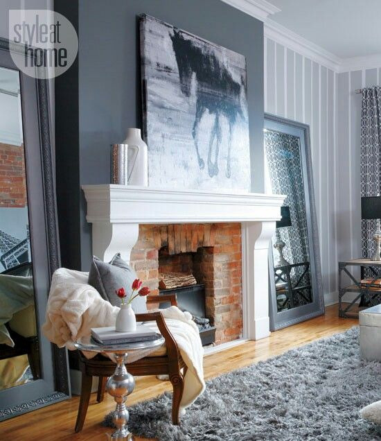 Pinterest the world s catalog of ideas - Feature wall ideas living room wallpaper ...