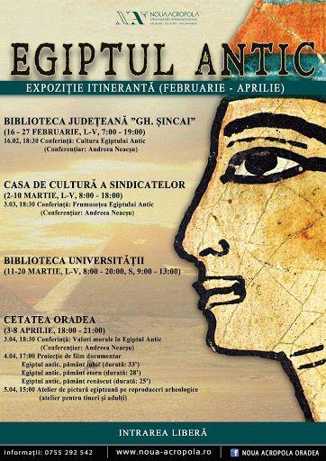 Expoziţia Egiptul Antic la Cetatea Oradea #1
