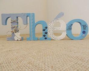 Letras Decorativas Festas ou Maternidade