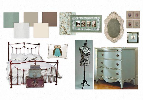Jessica's Vintage Style Bedroom