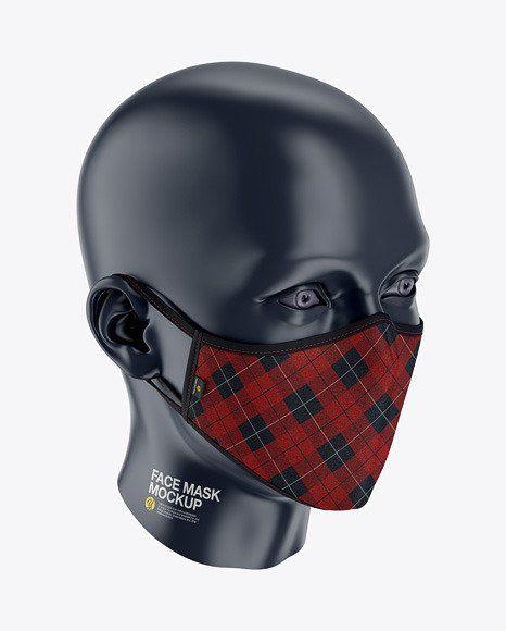 Download Mockup Templates Free Face Mask Mockup Face Mask Clothing Mockup Mockup Template Free