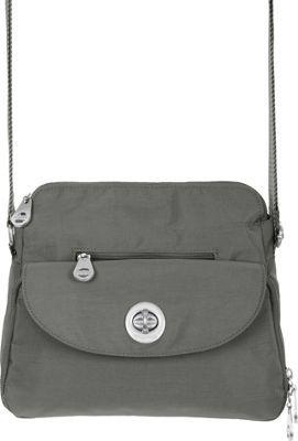 baggallini Provence Crossbody Pewter / Mimosa - #50shadesofGrey #grey #handbags #accessories #style
